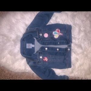 Toddler jacket i made with disney patches!